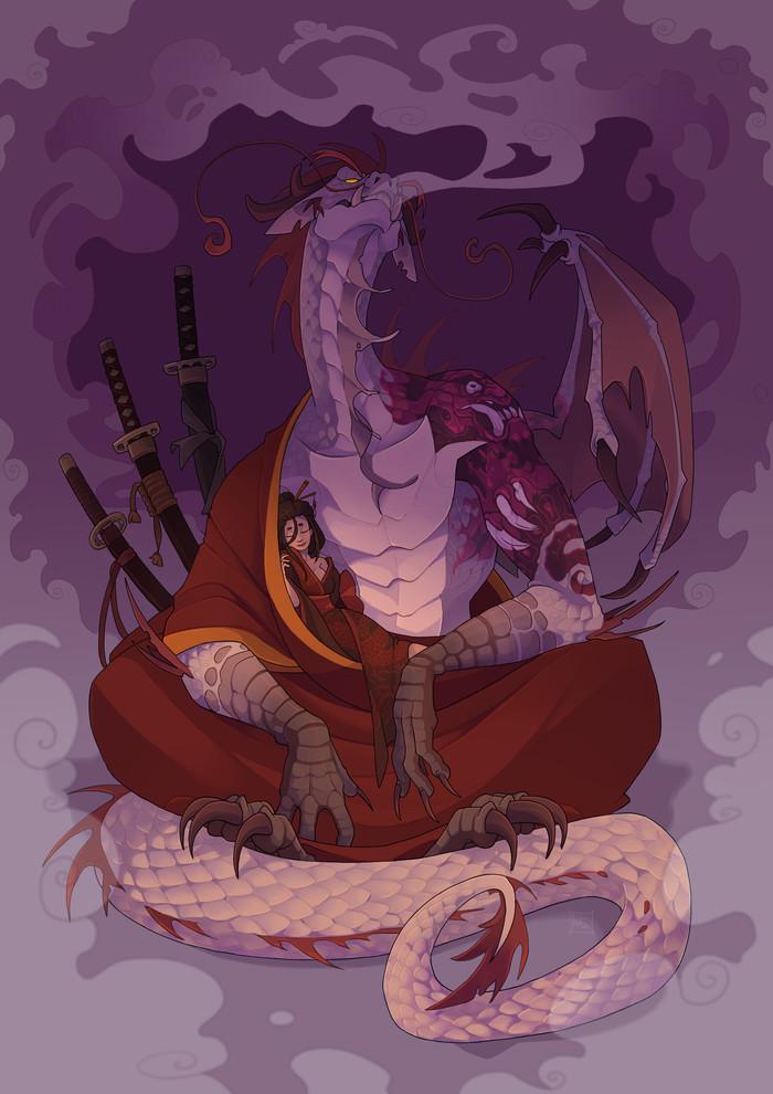 Дракон и принцесса