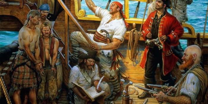 Чем корсар отличается от пирата и при чём тут копчёное мясо? История, Флот, Подборка, Пираты, Длиннопост