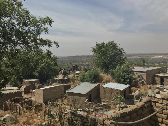 Современная африканская деревня (Буркина-Фасо) Африка, Буркина-Фасо, Путешествия, Длиннопост, Деревня