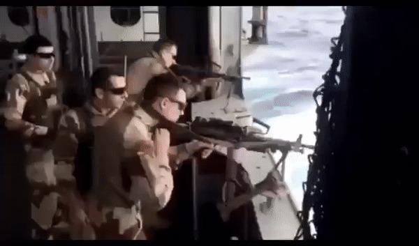 Упс... Оружие, Пулемет, Fail, Гифка