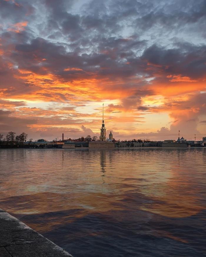 Закаты в Питере