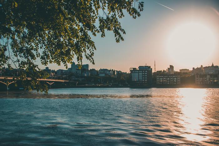 Воронеж на закате