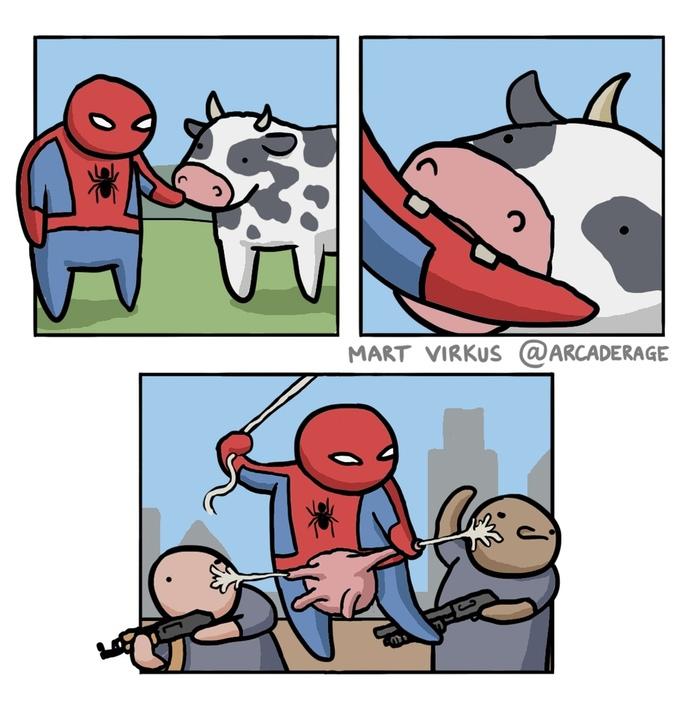 Cowspider-man