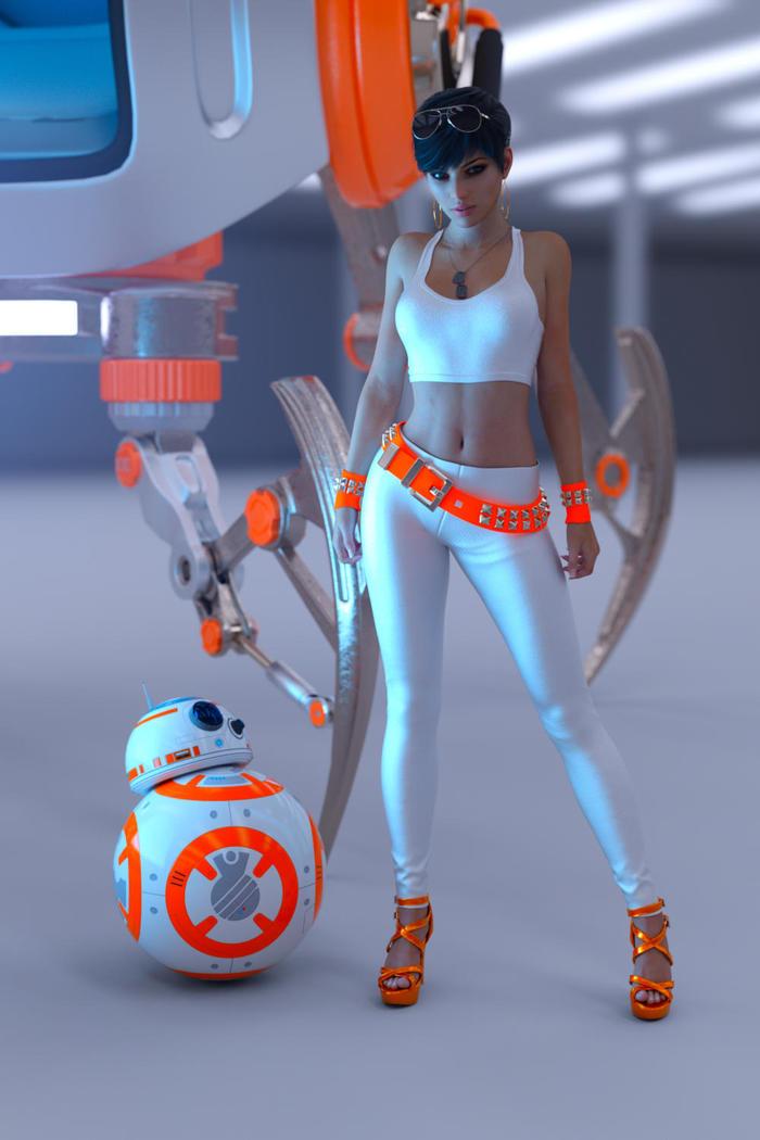 Подружка BB-8