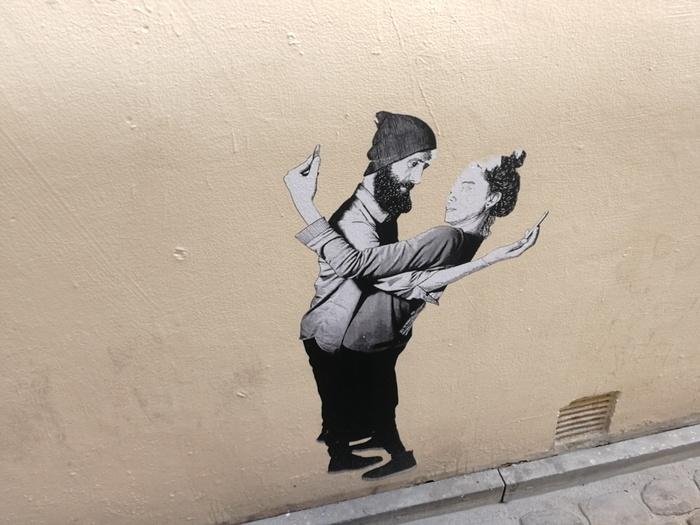 Брюссельские граффити