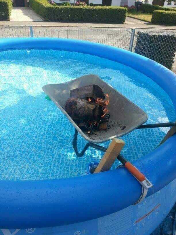 Как недорого и быстро нагреть бассейн