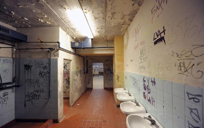 Фото туалета в немецкой школе Германия, Школа, Фотография, СМИ
