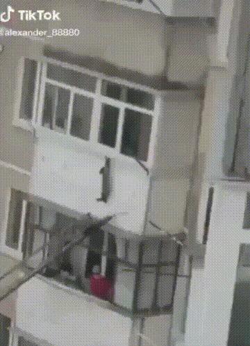 Спасение котэ