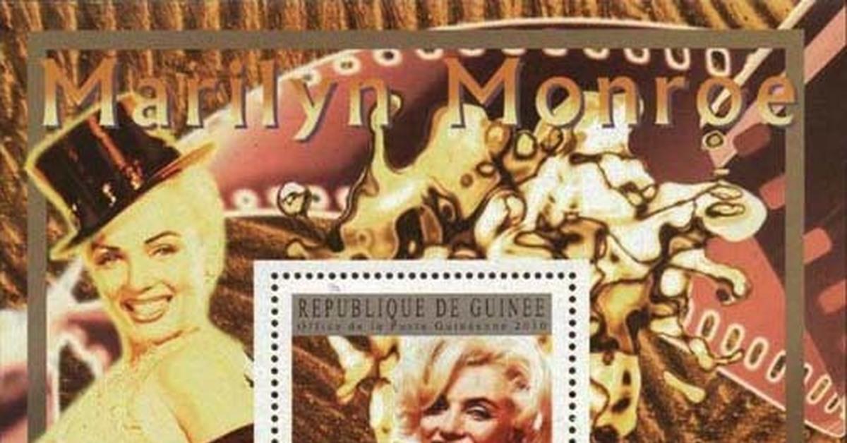 """ММ на почтовых марках (V) Цикл """"Великолепная Мэрилин"""" - 192"""