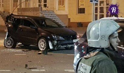 Сын российского вице-губернатора устроил пьяную аварию