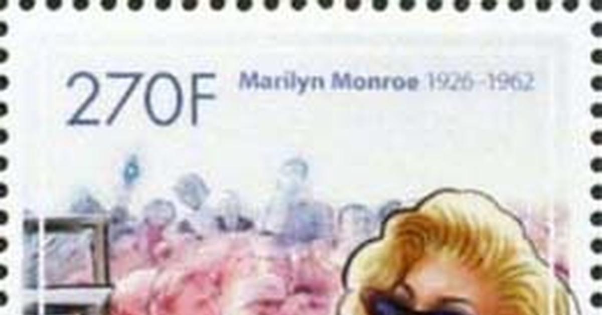 """ММ на почтовых марках (XXVI) Цикл """"Великолепная Мэрилин"""" - серия 240"""