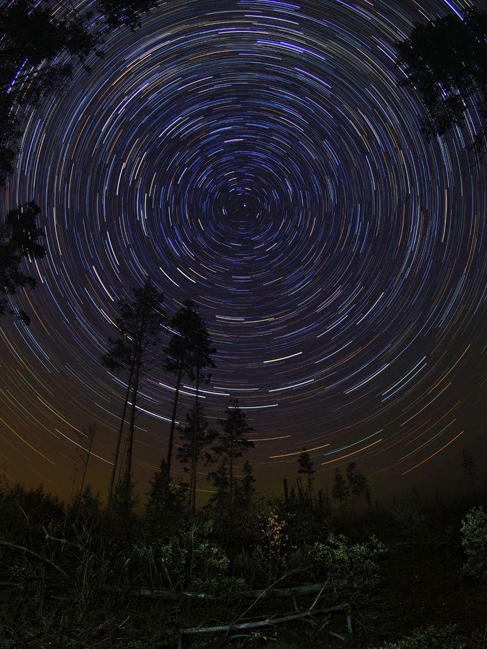 Хоровод вокруг Полярной звезды