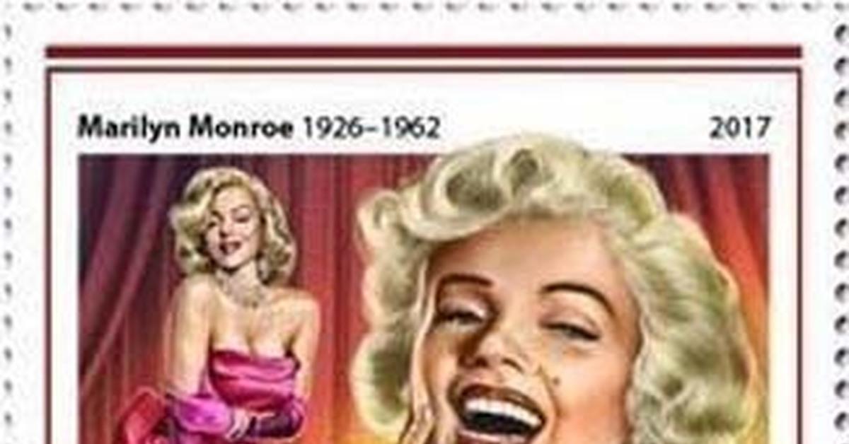 """ММ на почтовых марках (XXXVIII) Цикл """"Великолепная Мэрилин"""" - Серия 265"""