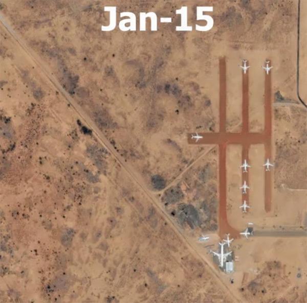 Стоянка самолетов вАлис-Спрингс, Австралия после начала эпидемииCovid-19