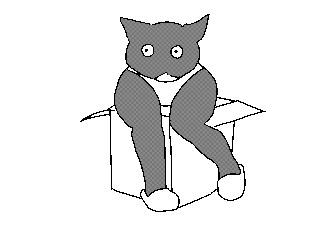 Вижу кота - рисую кота Кот, Анимация, Гифка