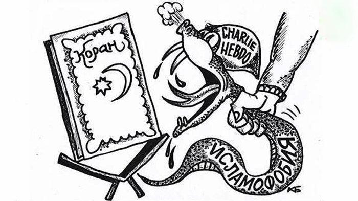 Администрация Instagram удалила карикатуры чеченской газеты quotВласти республикиquot на Charlie Hebdo