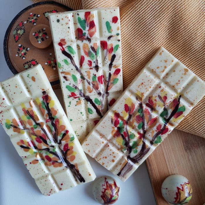 Осенний шоколад Пятничный тег моё, Конфеты, Шоколад, Осень, Длиннопост