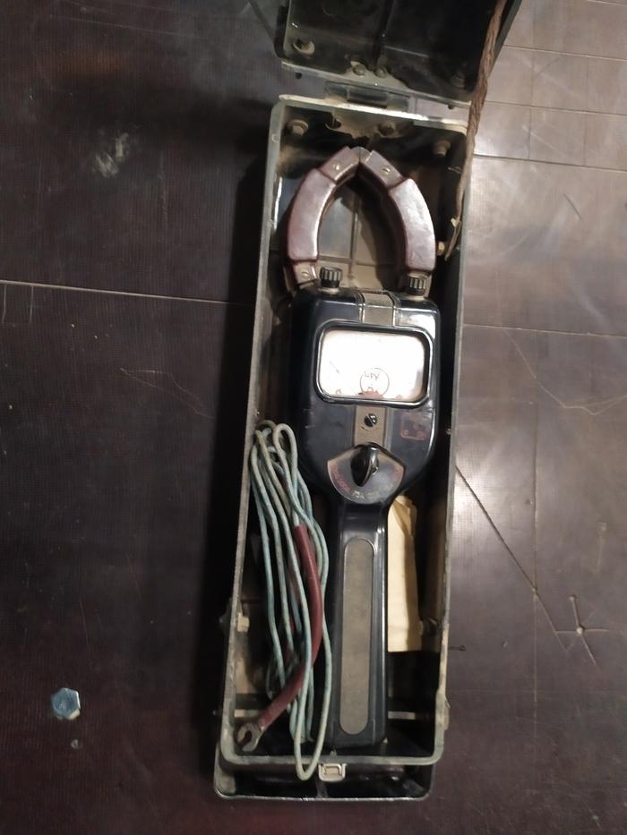 Клещи токоизмерительные, почти новые Электричество, Электрический Ток, Измерительные приборы, Длиннопост