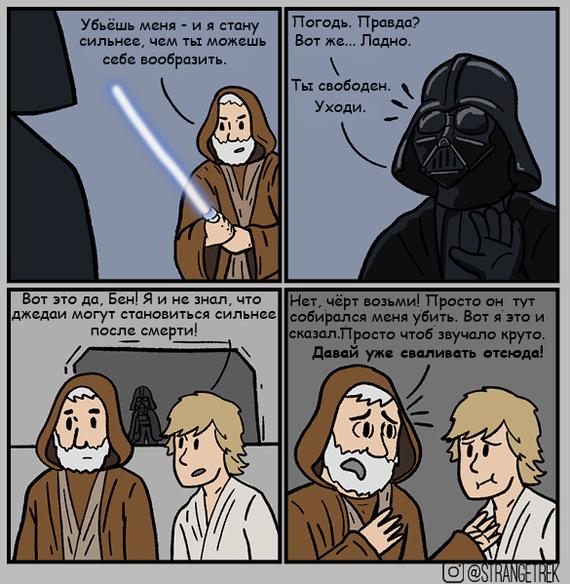 Сила после смерти