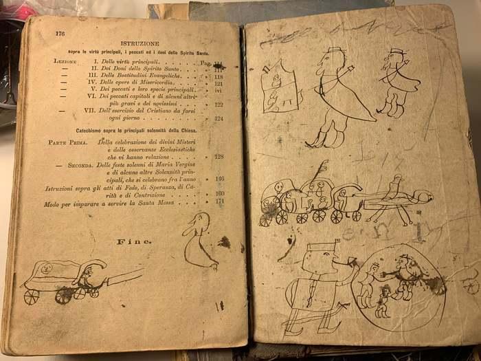 """""""Рисунки моего восьмилетнего прапрапрадедушки из 1878 года"""""""