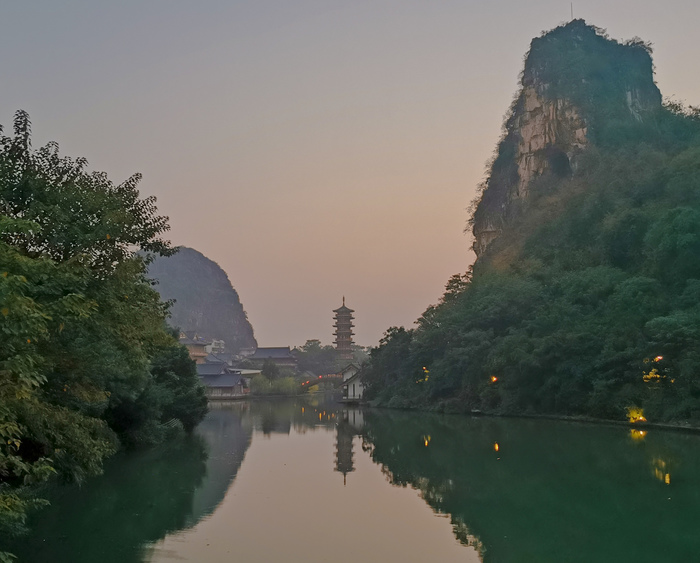 Двухдневная пробежка на 83 км по окрестностям Гуйлиня Бег, Физкультура, Китай, Путешествия, Бюджетное путешествие, Пешком, Фотография, Длиннопост