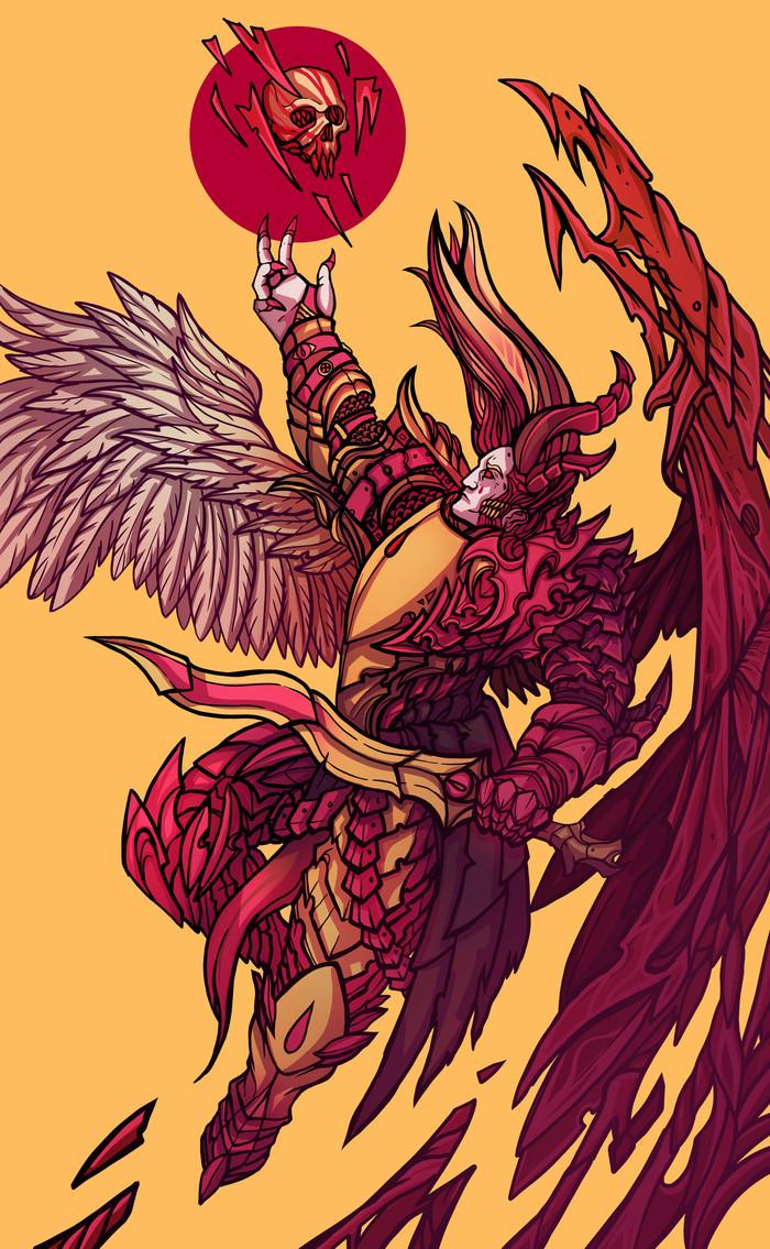 Демон принц Сангвиний