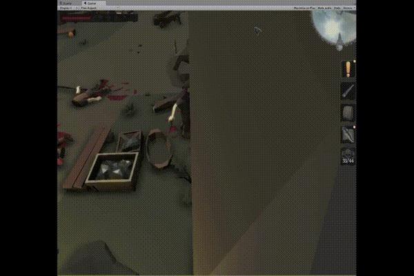 Unferat (пост 5) Unity3d, Игры, Gamedev, Компьютерные игры, Колдовство, Steam, Программирование, 3D, Фэнтези, Гифка, Длиннопост