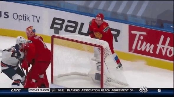 Отличный старт! Спорт, Хоккей, Сборная России по хоккею, Молодежный ЧМ, 2021, Гифка, Видео