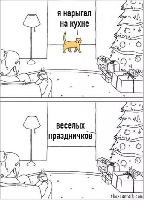 Обычный кот