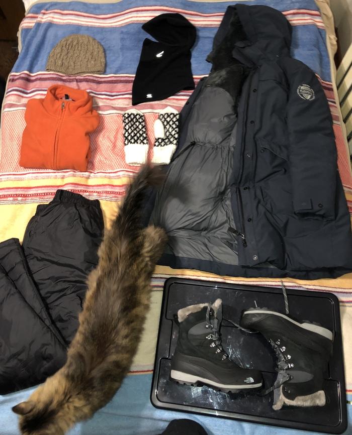Набор для выживания в Якутии