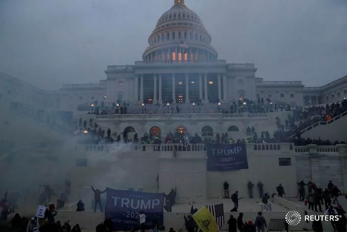 Началось? Выборы США, Политика, Дональд Трамп, США, Государственный переворот, Варвар, Капитолий, Захват