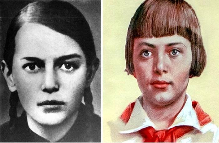 Реальная история подвига Зины Портновой