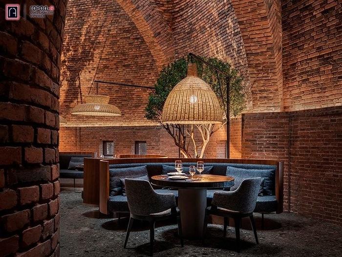 В Китае построили здание из кирпича, напоминающее огромный термитник Архитектура, Дизайн, Ресторан, Кирпичи, Длиннопост, Китай