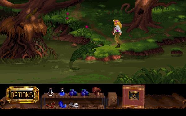 The Legend of Kyrandia: Hand of Fate (часть 1) 1993, Прохождение, The Legend of Kyrandia, Westwood, Игры для DOS, Компьютерные игры, Ретро-Игры, Квест, Гифка, Длиннопост