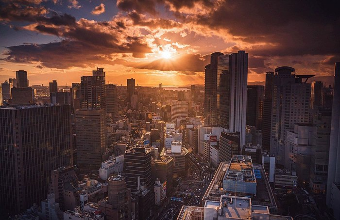 Японский закат