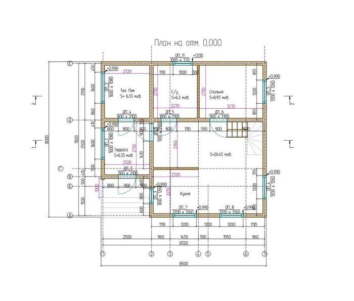 Как мы строилидвухэтажный дом из бруса 95 м2 с балконом Дом, Дача, Строительство, Ремонт, Мастер, Работа, Лайфхак, Семья, Ипотека, Природа, Видео, Длиннопост