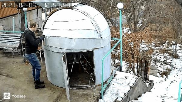 Домашний купол для астрофотографии ч.3 Астрофото, Своими руками, Телескоп, Самоделки, Астрономия, Купол, Обсерватория, Гифка, Длиннопост
