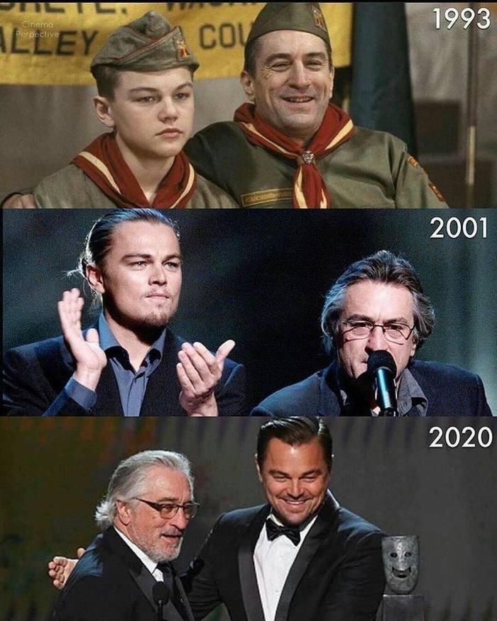 Леонардо и Роберт