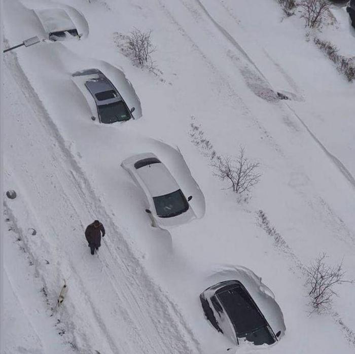 Московский снегопад. Бутово