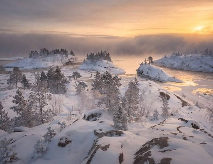 Ладога зимой