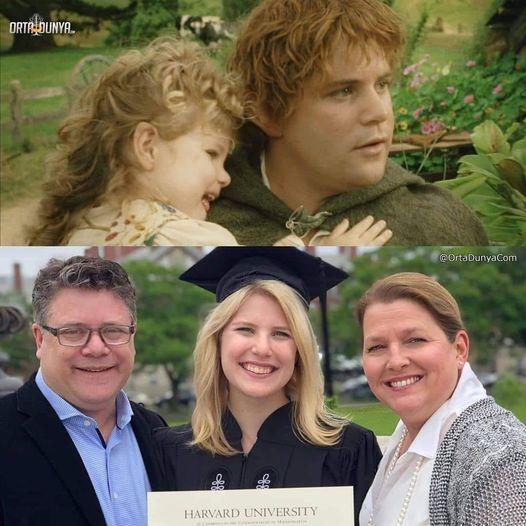 Шон Эстин и его дочь 20 лет спустя