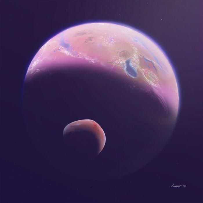 Звёздное небо и космос в картинках - Страница 37 1614171610135425763