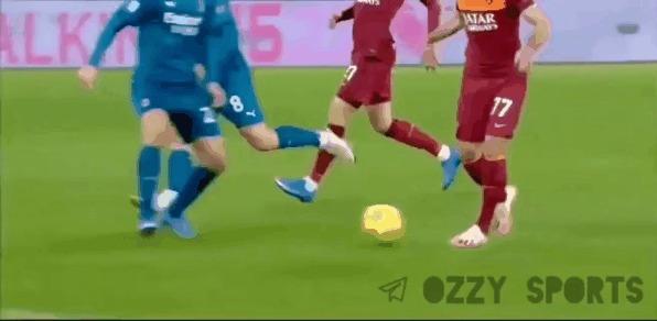 """""""Ты не пройдёшь!"""" © Спорт, Футбол, Серия А, Защита, Фк Милан, Гифка"""