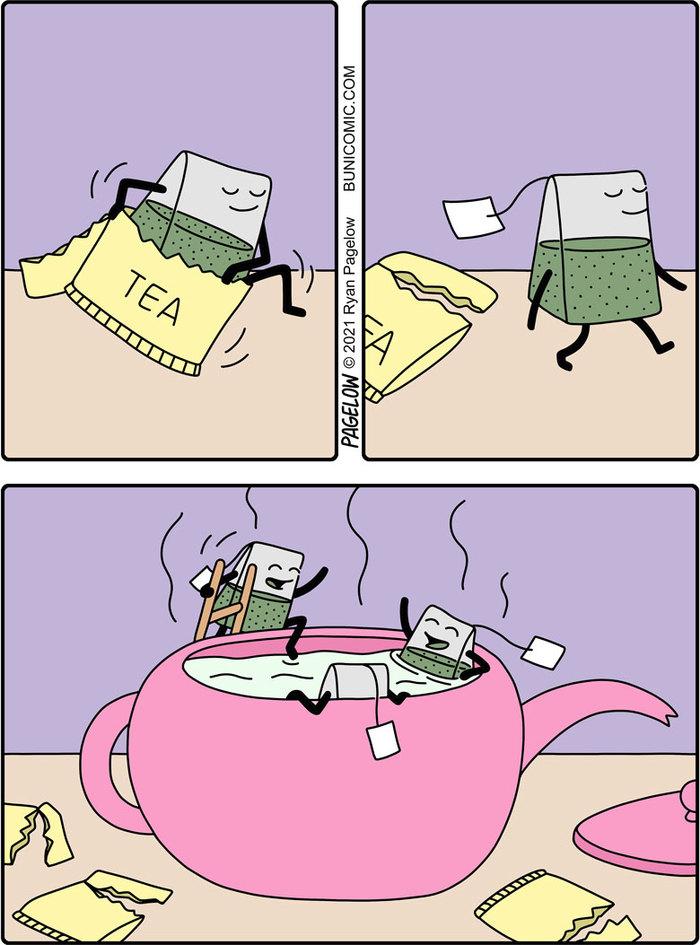 Чайная ванна