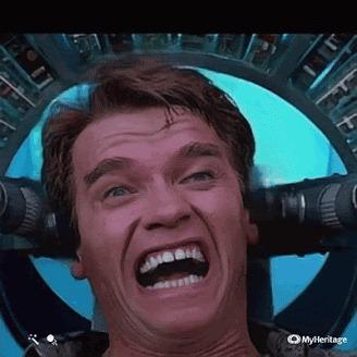 После того как попросил у стоматолога, анестезию покрепче...