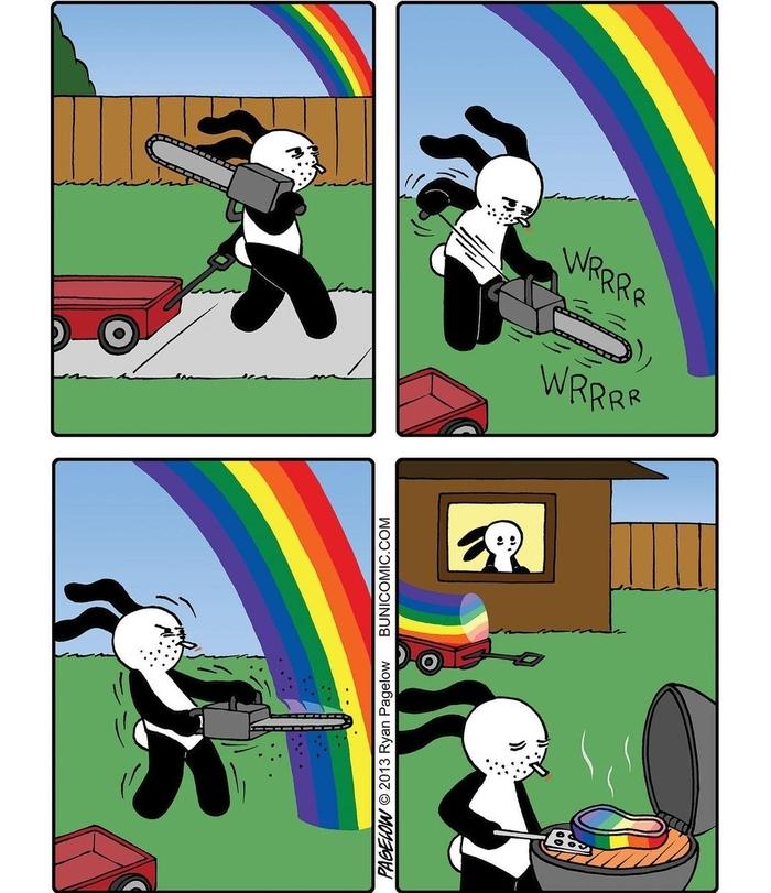 Попробуй радугу