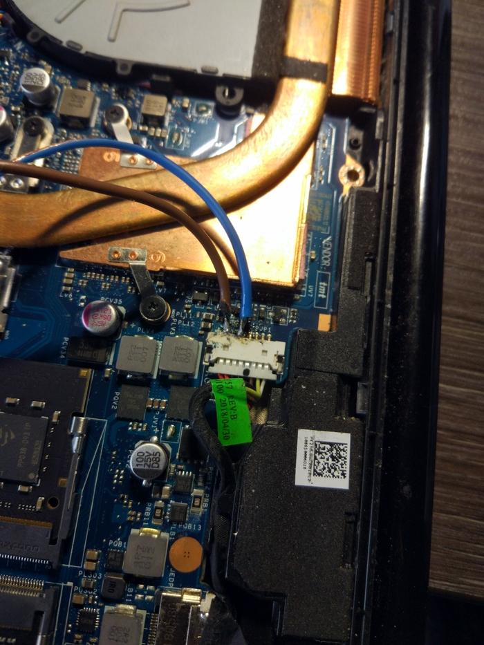 Припиливаеи поддержку usb type-c к старому убитому ноутбуку Длиннопост, Ноутбук, Моддинг, Type-c, Пайка, Зарядное устройство, Своими руками