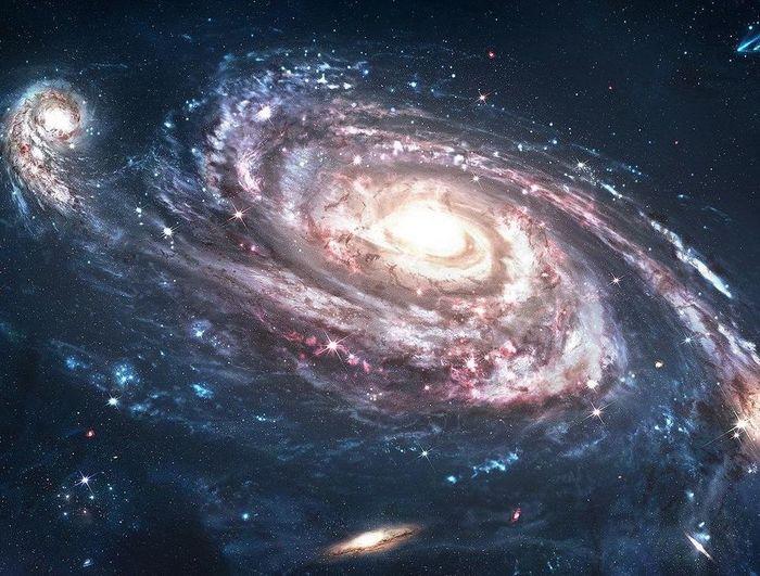 Звёздное небо и космос в картинках - Страница 38 1615965631159667237