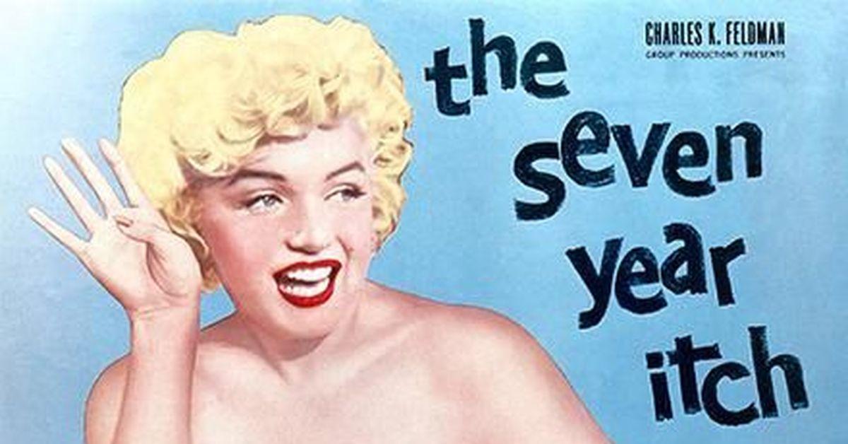 """Мэрилин Монро в фильме """"Семь лет желания"""" (XIV) Цикл """"Великолепная Мэрилин"""" 414 часть"""