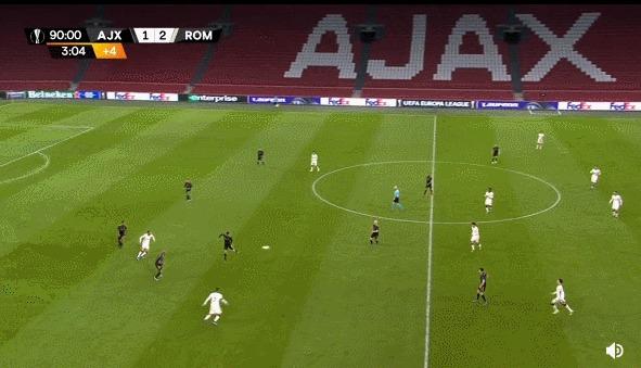 Суровые амстердамские болбои Спорт, Футбол, Лига Европы, Болбой, Гифка